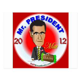 Carte Postale Mitt Romney