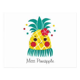 Carte Postale Mlle Hawaiian Pineapple