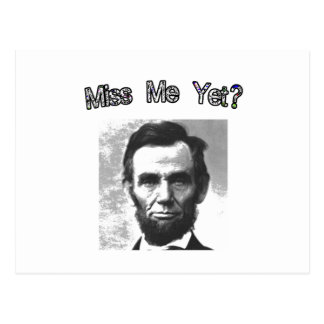 Carte Postale Mlle Me Yet ?  Lincoln