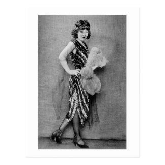 Carte Postale mode d'aileron des années 1920