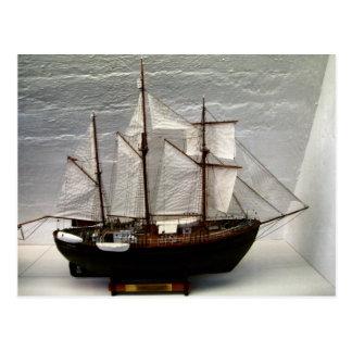 Carte Postale Modèle de Fram, le bateau employé par Nansen