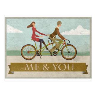 Carte Postale Moi et vous