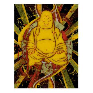 Carte Postale Moine dans la méditation