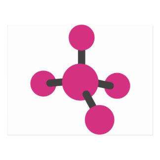Carte Postale Molécule