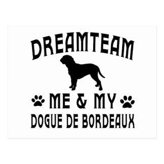 Carte Postale Mon Dogue de Bordeaux Dog