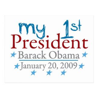 Carte Postale Mon ęr président (Barack Obama)