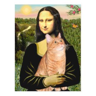 Carte Postale Mona Lisa - 46 SH tigrés oranges