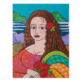 Carte Postale Mona maniaque