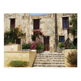 Carte Postale Monastère Crète Grèce de Preveli