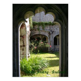 Carte Postale Monastère d'Adare - Irlande