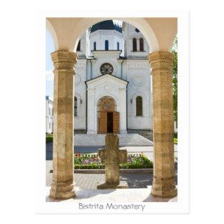 Carte Postale Monastère de Bistrita