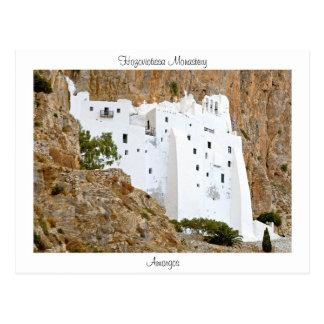 Carte Postale Monastère de Hozoviotissa - Amorgos