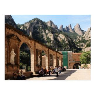 Carte Postale Monastère de Montserrat