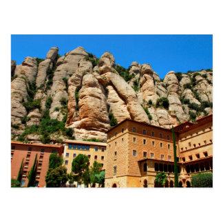 Carte Postale Monastère de Montserrat, Catalogne, Espagne