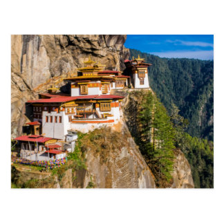 Carte Postale Monastère de nid de tigre
