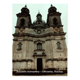 Carte Postale Monastère | de Pazaislis