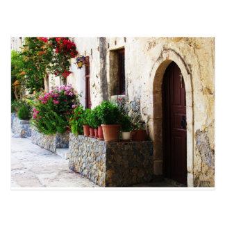 Carte Postale Monastère de Preveli, Crète Rethymnon Grèce