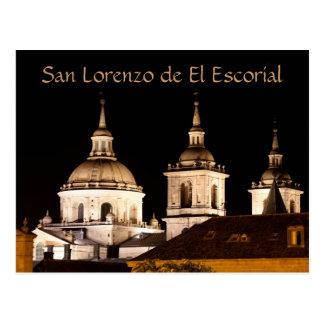Carte Postale Monastère de San Lorenzo de El Escorial, Espagne