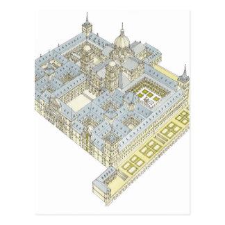 Carte Postale Monastère de San Lorenzo El Real de El Escorial.