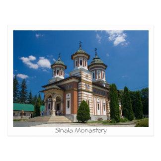 Carte Postale Monastère de Sinaia