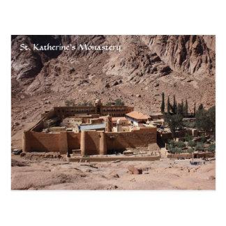 Carte Postale Monastère de St Katherine