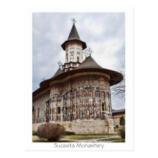 Carte Postale Monastère de Sucevita