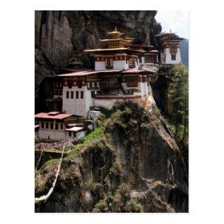 Carte Postale monastère de taktsang