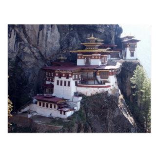 Carte Postale Monastère de Taktshang, Paro, Bhutan
