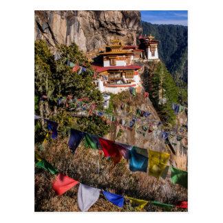 Carte Postale Monastère du nid du tigre, Bhutan