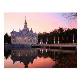 Carte Postale Monastère par le lac