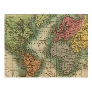 Carte Postale Monde 4