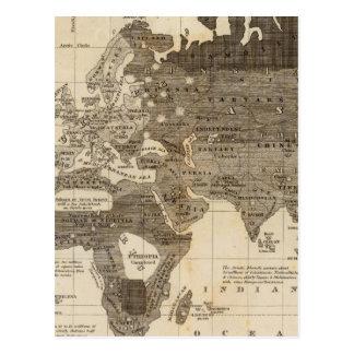 Carte Postale Monde moral et politique