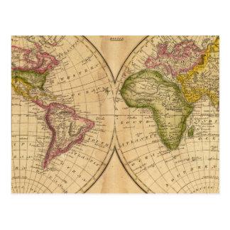 Carte Postale Monde par Worcester