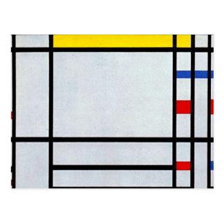 Carte Postale Mondrian - Place de la Concorde