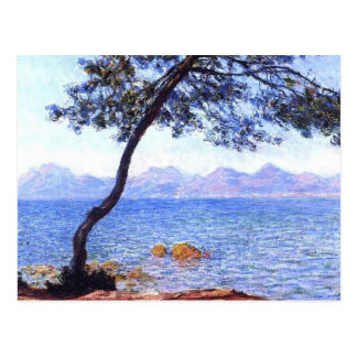 Carte Postale Monet Antibes