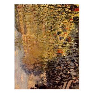 Carte Postale Monet, DES Capucines de boulevard de Claude à