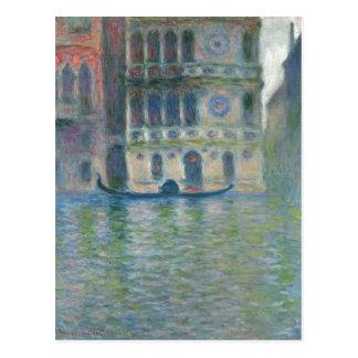 Carte Postale Monet récapitulatif, Claude Palazzo Dario, Venise