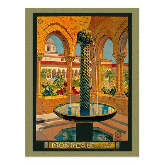 Carte Postale Monreale Palerme Italie