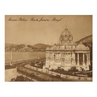 Carte Postale Monroe Palace Vintage Postcard