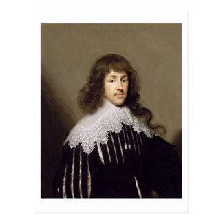 Carte Postale Monsieur Francis Godolphin, 1633 (huile sur la