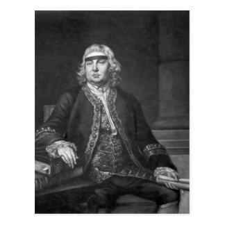 Carte Postale Monsieur John Fielding, gravé par James McArdell