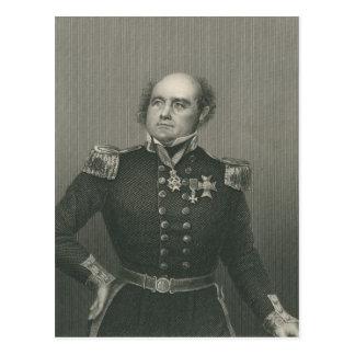 Carte Postale Monsieur John Franklin