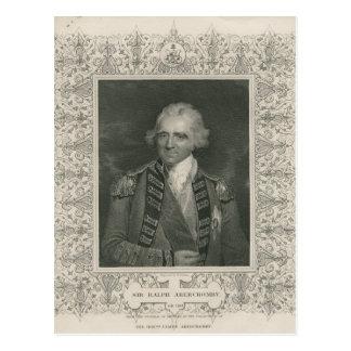 Carte Postale Monsieur Ralph Abercromby