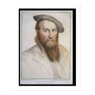Carte Postale Monsieur Thomas Wyatt (c.1503-42) gravé par