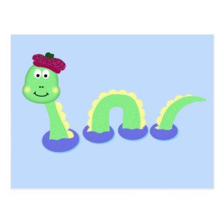 Carte Postale Monstre de Loch Ness
