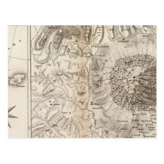 Carte Postale Mont Gibel, l'Etna