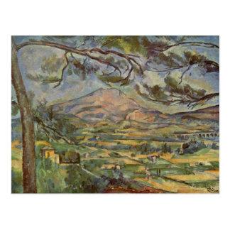 Carte Postale Mont Sainte-Victoire par Paul Cézanne