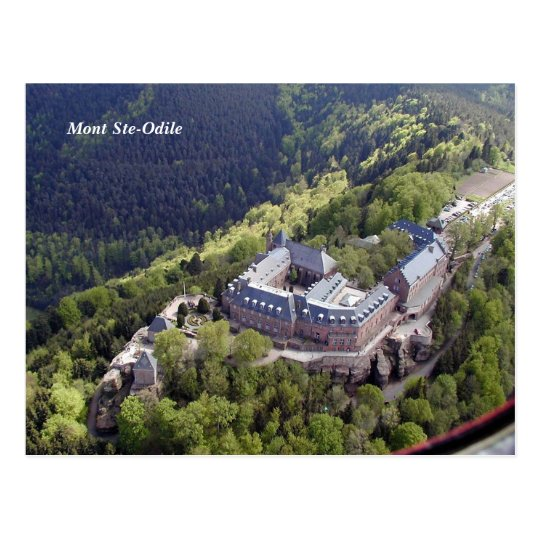 Carte Postale Mont Ste-Odile -