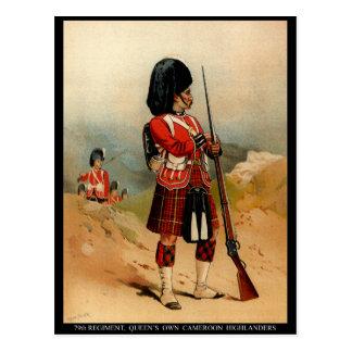 Carte Postale Montagnards de la Reine Cameroun