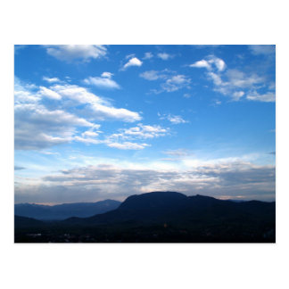 Carte Postale Montagne
